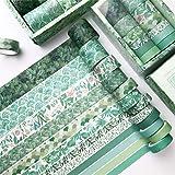 Lot de 12 rubans adhésifs Washi Tape - Ruban adhésif décoratif pour bricolage et scrapbooking (G)