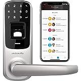 Ultraloq, UL3BT, serratura smart, con riconoscimento di impronte digitali e touchscreen, con Bluetooth, Ultraloq UL3 BT