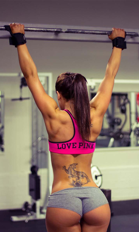 Sexy Gym Fitness Girls Daily Motivation With Live