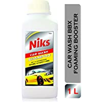 Niks Car Wash Foaming Shampoo - 1 LTR with Extra Thickness Formula