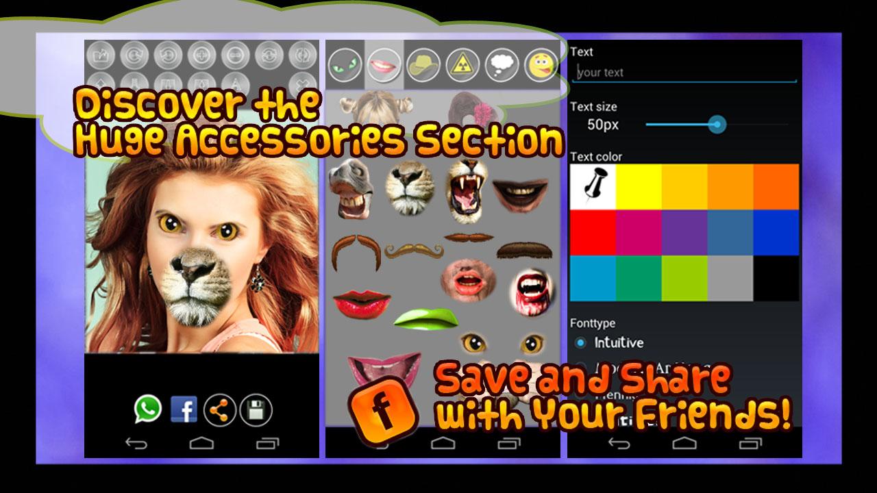 Zoom IMG-3 fun face changer extreme free