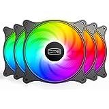 CP3 ventilateur 120mm 3 broches couleur fixe ventilateur pc haute performance ventilateur de boîtier LED à faible bruit avec