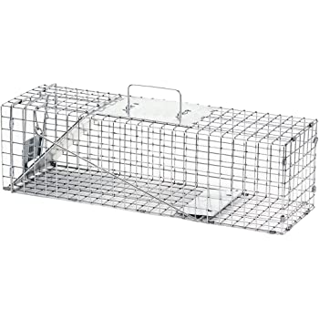 Havahart 1078 Live Animal Professional Style with 1-Door Squirrels and Rabbits Cage Trap