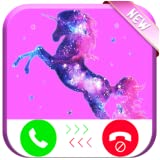 Prank Call from Galaxy Unicorn Evolution - Free Fake Phone Call ID PRO - 2018