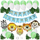 PAYOO jungle safari theme party, boy birthday decoration, children forest animal theme balloon packaging, baby birthday party