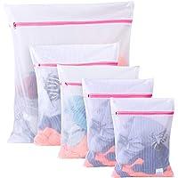BoxLegend Filet à Linge Sacs en Tissu pour la lessive - Paquet de 5 (1XL+ 2L + 2 M) réutilisation, Sac de Machine à…