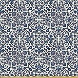 ABAKUHAUS Arabeske Stoff als Meterware, Marokkanischer