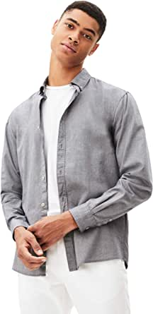 Celio Men's Napinpoint Dress Shirt