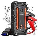 SUAOKI 1000A - CJS02 Booster Batterie Démarrage de Voiture Portable Jusqu'à 7L de Gaz ou 5L de Diesel Avec Pinces Intelligentes Jump Starter 3 USB Charge Rapide QC3.0 PD2.0 Lampe de Poche LED