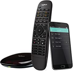 Logitech Harmony Companion Fernbedienung (funktioniert mit Amazon Alexa) schwarz