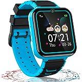 Vannico Reloj Inteligente niño, 12 in 1 Smartwatch para Niños Game Watch 7 Juegos SOS Llamada Música Cámara Grabadora para 3-