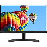 "LG 21.5"" Full HD (1920 x 1080) Slim IPS Panel Monitor, HDMI x 2 & VGA Port, 75 Hz Refresh Rate & AMD Freesync - 22MK600M (Black)"