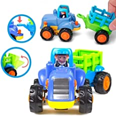 Unbreakable Engineering Automobile Car Construction Machine Toys Set for Kids (Set of 4), Multi Color