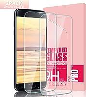 Youer Galaxy S7 Panzerglas Schutzfolie, HD Ultra-klar Abdeckung Gehärtetem Glas Displayschutzfolie, Anti-Kratzer, Klar...