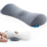 NOFFA - Cuscino di supporto lombare per letto, in memory foam per dormire, cuscino lombare fornisce un supporto…