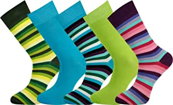 Mysocks 5 Pairs Extra Fine Combed Cotton Ankle Socks Size 7-11
