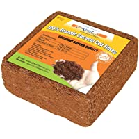 Kraft Seeds Gate Garden Cocopeat Block, Agropeat Block - Expands Up to 25 litres of Coco Peat Powder for All Seeds and Plants