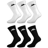 Calze sportive Kappa in spugna colore bianco e nero 6//9//12 paia Sockenkauf24