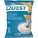 Quest Nutrition Tortilla Style Protein Chips, Ranch 32 Gram 1.1 Ounce 30 g