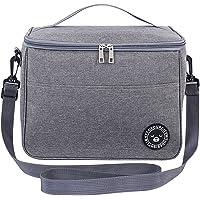Sac Isotherme Pliable, 12L Grande Capacité Lunch Bag, Sac-Glacière Cooler Bag, Sac de Pique-Nique pour Le Transport de…