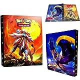 Classeur pour Cartes Pokemon, Albums Pokemon GX EX Trainer, Albums de Cartes à Collectionner, 30 Pages Peut contenir jusqu'à