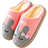 KISCHERS Inverno Home Pantofole per Donna e Uomo Antiscivolo Cotone Scarpe Caldo Peluche Morbido