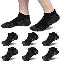 6 Paires Basses Chaussettes Sport Homme Coton Femme Courtes Noir Blanc Gris Lot