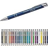 100 Cosima Kugelschreiber aus Metall mit Gravur (Neu & alle mit gleicher Wunschgravur) WPRO