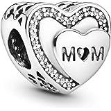 Pandora Femme Argent Charms et perles - 792070CZ