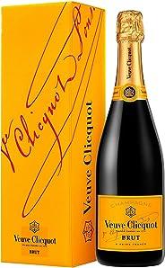 Veuve Clicquot Brut Yellow Label mit Geschenkverpackung (1?x?0.75 l)