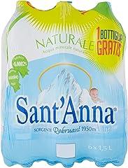 Sant'Anna Acqua Naturale Sorgente Vinadio, 6 x 1.5L