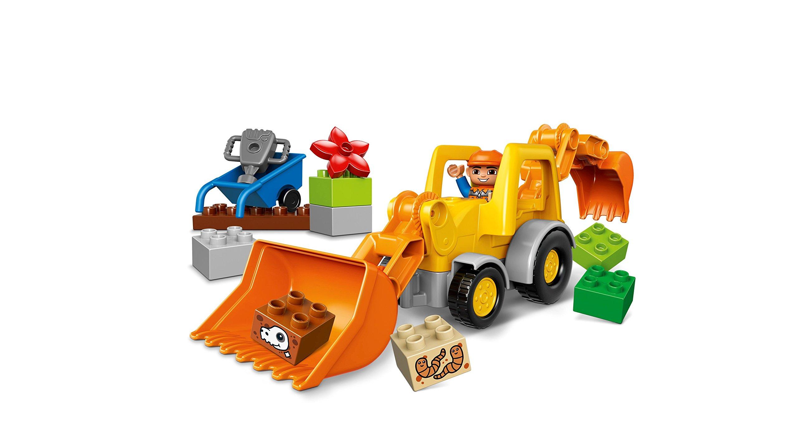 LEGO Duplo Camion e Scavatrice Cingolata con Due Personaggi, Set di Costruzioni per Bambini da 2-5 Anni, Multicolore… 3 spesavip