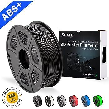 2.2lbs Black Esun 1.75mm Black Abs 3d Printer Filament 1kg Spool
