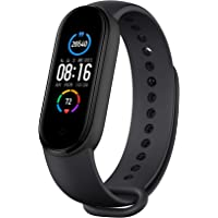 """Mi Smart Band 5-1.1"""" AMOLED Color Display, 2 Weeks Battery Life, 5ATM Water Resistant"""