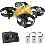 Mini Drone, RC Helicopter Quadcopter para, Niños y Principiantes con, control remoto, Rotación 3D, Modo sin cabeza, Mantenimi
