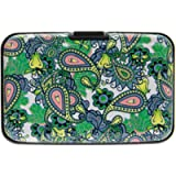 Women Credit Card Holders Paisley Designs Card & ID Cases RFID Theft Protectors Anti Scan Aluminium for Credit Card…