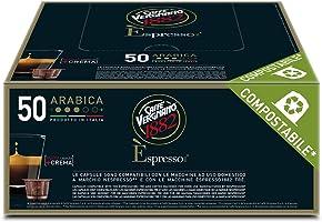 Caffè Vergnano 1882 Èspresso1882 Arabica - 50 Capsule - Compatibili Nespresso