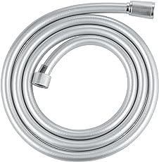 Grohe Silverflex Brause- und Duschsystem (Brauseschlauch, 150 cm, Edelstahloptik) 28364000