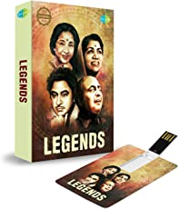 Music Card: Legend (320 Kbps MP3 Audio) (4 GB)