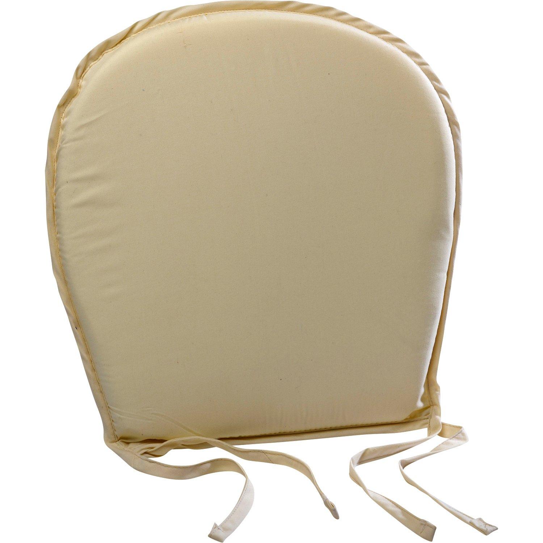 Plain Round Seat Pad Outdoor Garden Dining Kitchen Chair Cushion