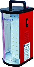 Amardeep (Made In India) High Bright Smd Led Rechargeable Emergency Light - Red