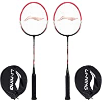 Li-Ning XP-IV Blend Badminton Racquet, Set of 2 with Free Full Cover