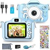 ERAY Appareil Photo Enfants, Caméra Numérique pour Enfants 20 MP Photo & 1080P HD Vidéo/Double Objectif/Selfie Caméra/ 8X Zoo