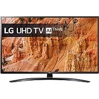 TV LED 4K 108 cm LG 43UM7400  Téléviseur LCD 43 pouces  TV Connectée : Smart TV  Netflix  Tuner TNT/Câble/Satellite