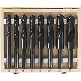 BGS 2019   HSS-Bohrer-Satz   8-tlg.   13 - 25 mm   XXL   13 mm Schaft für alle Bohrmaschinen