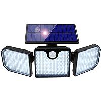 Lampe Solaire Extérieur, Orelpo 230 LED Sécurité de Détecteur Mouvement Lampe avec 270° Grand Angle & IP65 Étanche…