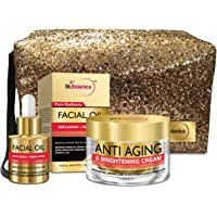 StBotanica Pure Radiance Combo | Facial Oil (20ml) + Anti Aging & Brightening Cream (50g) With Pouch