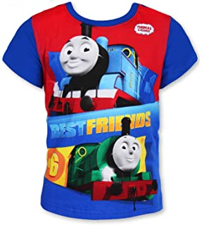 THO-mas The Tank Engine T Shirt Boys and Girls Casual Round Neck Short Sleeve T-Shirts Cotton