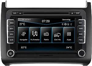 Esx Vw Polo 6c Ab 04 2014 2 Din Autoradio Navi Vn720 Vo P6c Grey