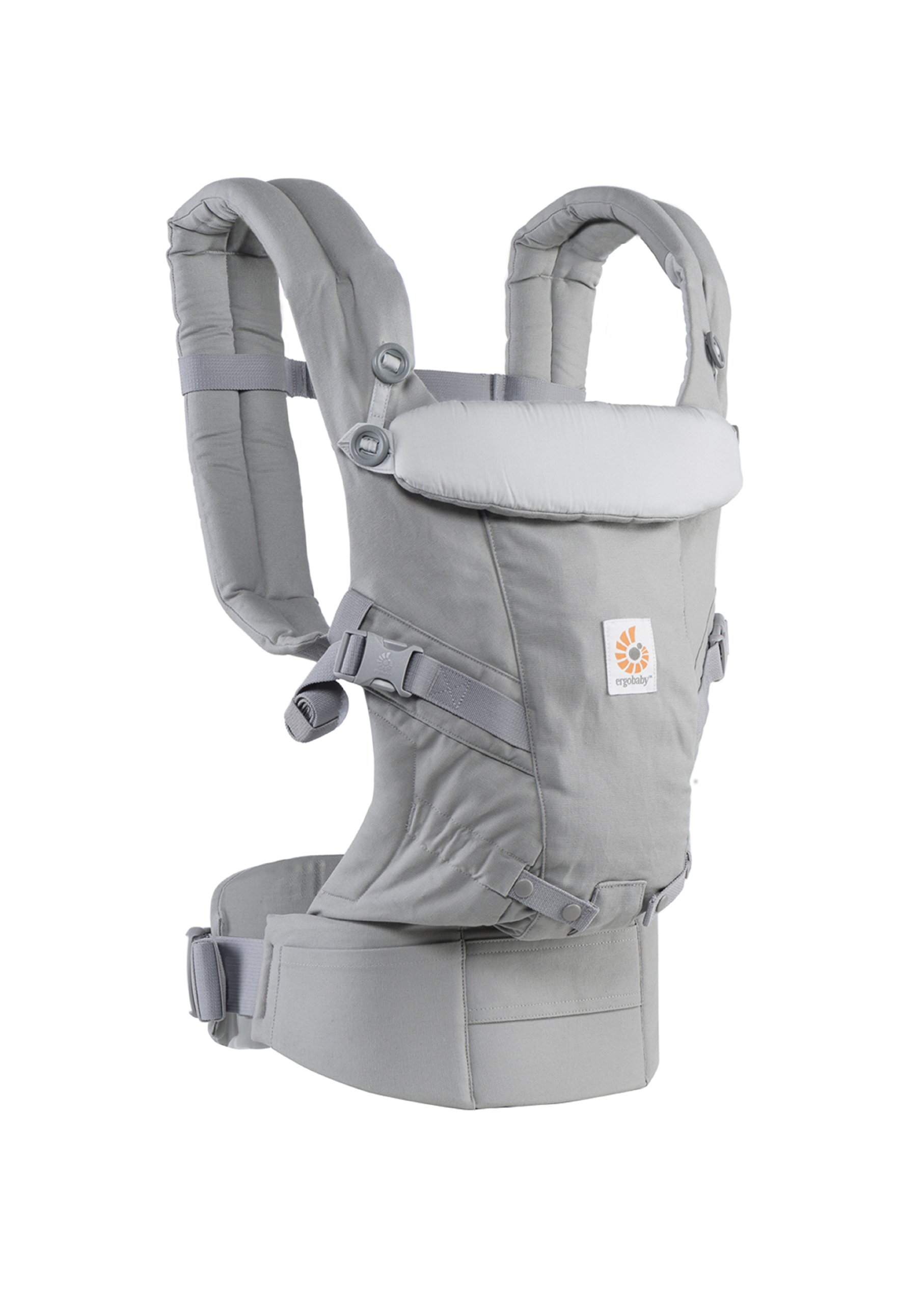 ErgoBaby Adapt Baby Carrier Grey Ergobaby Adapt to Every Baby Easy. Adjustable. Newborn to toddler. 6